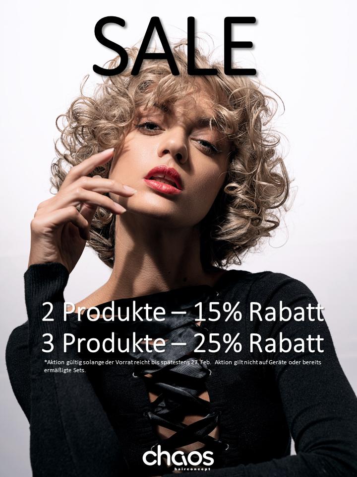 SALE – Verkaufsangebot! Jetzt 25% Sparen